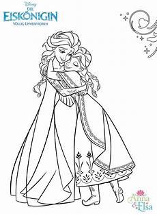 Ausmalbild Elsa Und Eiskonigin Ausmalbilder Weihnachten Disney