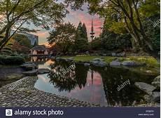 germany hamburg japanese garden at planten un blomen