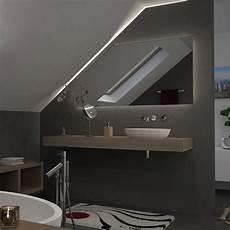 spiegel f 252 r dachschr 228 mit led beleuchtung fina 989706556