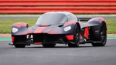 aston martin valkyrie hits the track for first time