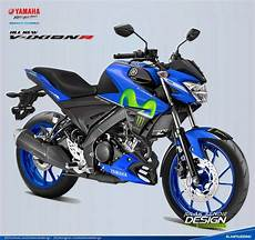 Modifikasi All New Vixion R by Decal Yamaha All New Vixion Facelift 2017 Livery Motogp