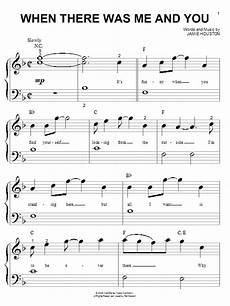 when there was me and you piano sheet music when there was me and you piano big notes high school musical piano big notes 55224