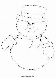 Schneemann Bastelvorlage Prickeln Vorlage Winter 2019 Winter Crafts For