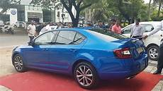 2017 Skoda Octavia Rs Race Blue