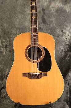 epiphone 12 string guitar epiphone 6834 e 12 string acoustic vintage 1970s reverb