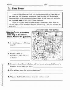 time zone worksheet printables free 3278 time zones 4th 5th grade worksheet lesson planet