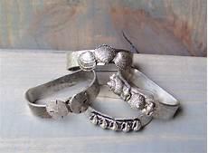 Bakeey Metal Shell Retro Four Rings by Vintage Napkin Rings Metzke 1975 Pewter Metal Sea Shell