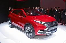 mitsubishi plans new family of hybrid suvs for 2020 autocar