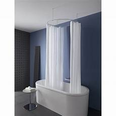duschvorhangstange rund duschvorhangstange rund dr 90 deckenhalterung edelstahl