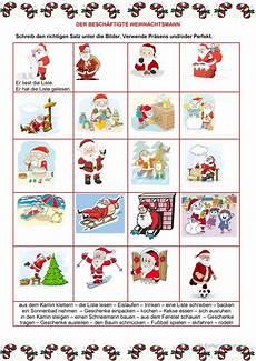 perfekt weihnachten lernen german und text
