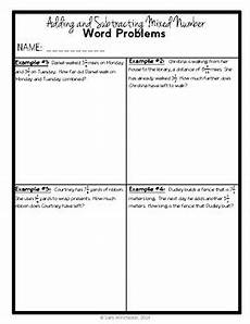 mixed addition and subtraction word problems worksheets for grade 3 10581 mixed number addition subtraction word problems 5th grade 5 nf a 2
