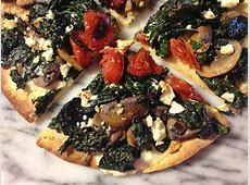 Mushroom and Ricotta Pizza image