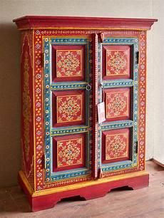 credenze etniche moderne stipo rajasthan colorato in offerta mobile credenza india