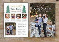 Etsy Photo Card Templates Year In Review Card Template Card Template For
