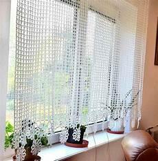 Gardinen Häkeln Anleitung - vorhang geh 228 kelte gardine h 228 keln vorhang