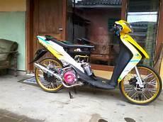 Modifikasi Spin 125 by 100 Modifikasi Motor Suzuki Spin 125 Keren