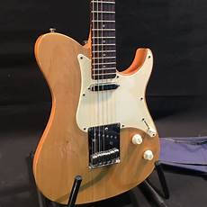 yamaha pacifica tele style electric guitar with two