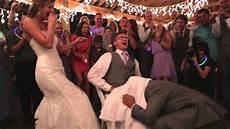 wedding prank ideas groomsman wedding garter prank