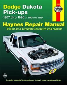 auto repair manual free download 1996 dodge ram van 1500 instrument cluster dodge dakota pick up haynes repair manual 1987 1996 hay30020