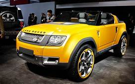 Land Rover Dc100 Sport Concept Front View Photo 1