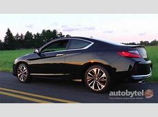 2017 Honda Accord Coupe EX L V 6 Test Drive Video Review