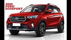 2020 Ford Ecosport Rendering