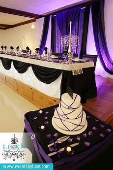 purple black and white wedding backdrop purple uplighting purple black and wedding stuff
