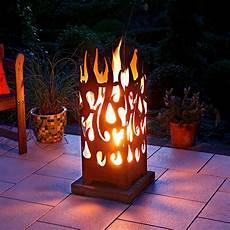 feuerkorb burning fire rechteckig von g 228 rtner p 246 tschke