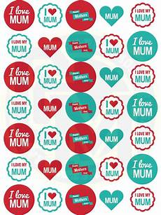 printable mothers day stickers 20598 mothers day stickers 37mm paper rounds craft bags sweet cones