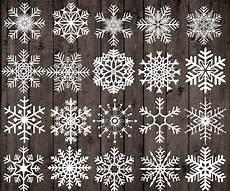 Fensterbilder Vorlagen Weihnachten Kreide Kreide Schneeflocken Clipart Weihnachten Clipart Etsy