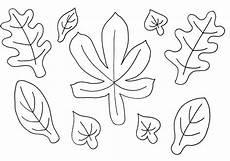 herbstblätter zum ausschneiden diy fall paper decor for table and wall luloveshandmade