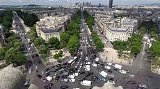 arc de triomph arc de triomphe timelapse of worlds worst roundabout and traffic 4k