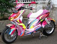 Motor Beat Modifikasi by 70 Modifikasi Motor Honda Beat Kece