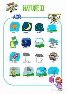 nature elements worksheets 15116 nature elements pictionary worksheet free esl printable worksheets made by teachers