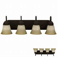 oil rubbed bronze four globe bathroom vanity light bar fixture frosted glass ebay