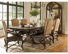 bibbiano trestle dining table dining room furniture