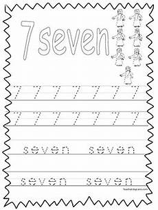 single bible curriculum worksheet trace the number 7 preschool math worksheet
