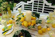 Table Decoration With Lemons Stock Photo 169 Angelica8