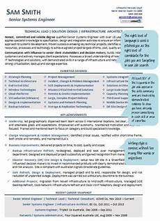 australian resume format for the australian market