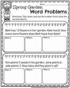 may first grade worksheets for spring first grade worksheets first grade words math word