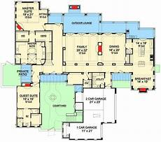 tuscan style house plans with courtyard plan 36522tx 4 bed tuscan masterpiece with courtyard in