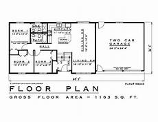 elevated bungalow house plans 3 bedroom raised bungalow house plan rb345 1163 sq feet