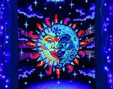 blacklight tapestry etsy