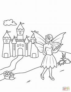 near castle coloring page free printable coloring