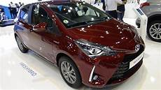 2018 toyota yaris hybrid active exterior and interior