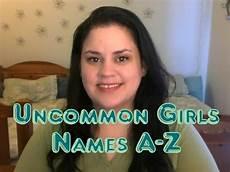 weibliche namen a z uncommon names