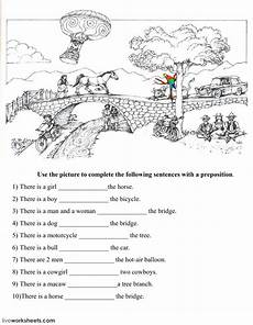 locating places worksheet with answers 15952 prepositions of place exercise and pdf you can do the exercises or the