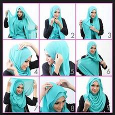 Cara Memakai Jilbab Pashmina Simpel Modern Trend 2017