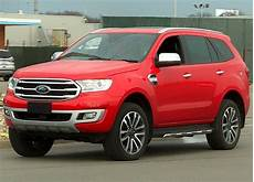 2018 Ford Everest 2018 Ford Endeavour Spied Undisguised