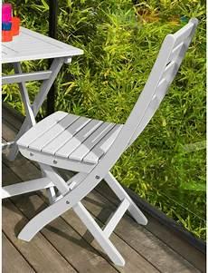 chaise de jardin en eucalyptus fsc chaise pliante